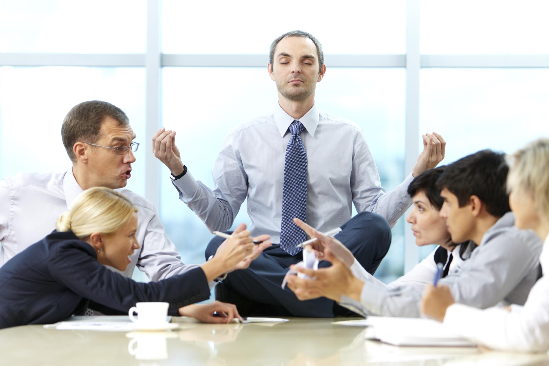 бизнес фото с конфликтом временем