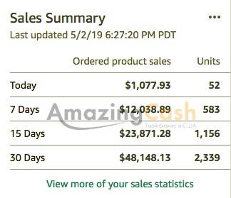 Как запустить 7 магазинов на Amazon за 3 года и дойти до оборота 100 000 $ ежемесячно?!