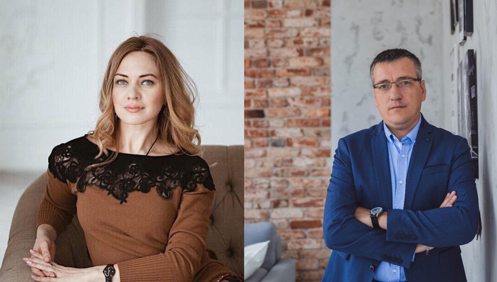 Ольга Балябина и Виталий Парфенов. Управление отделом продаж