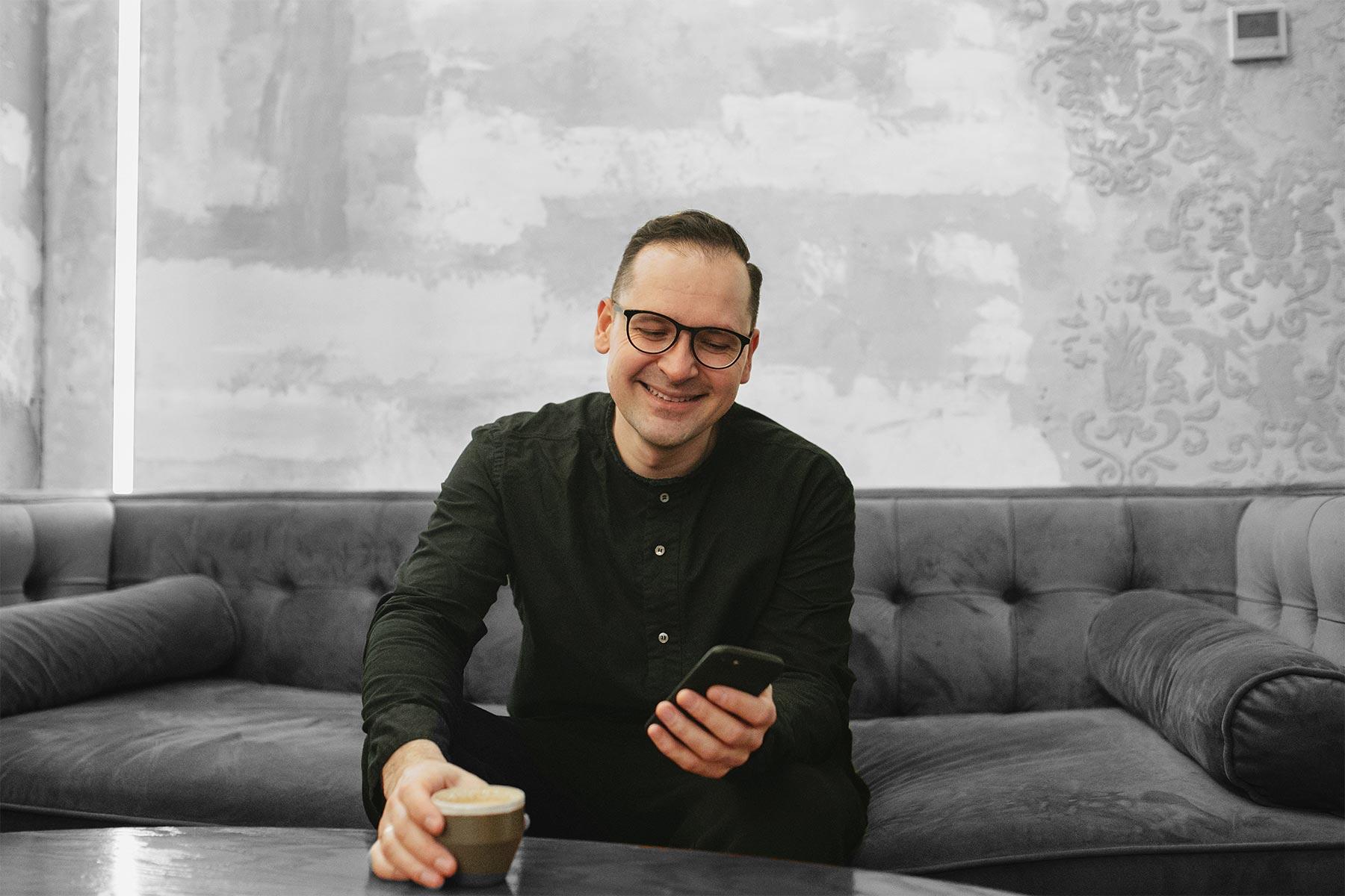 Максим Завьялов, основатель Школы кофейного бизнеса