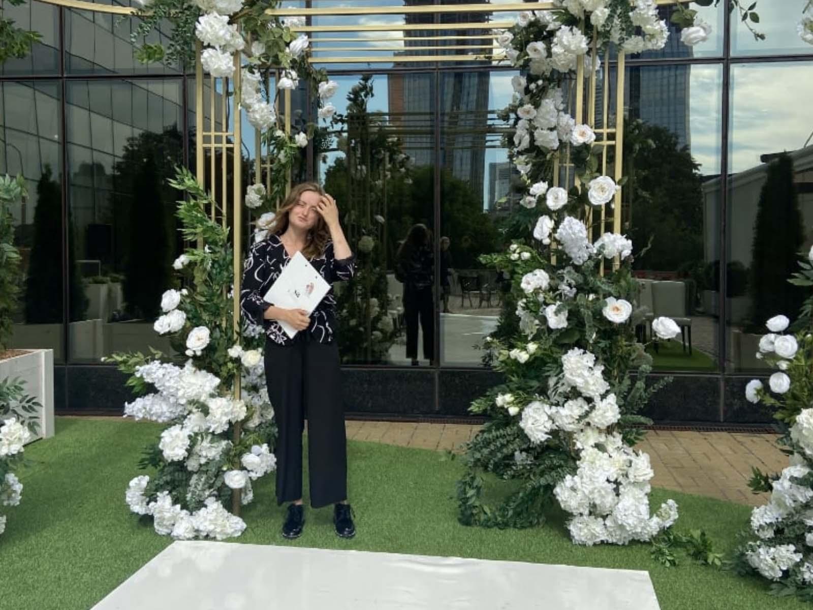 Виктория Бернер, свадебный организатор