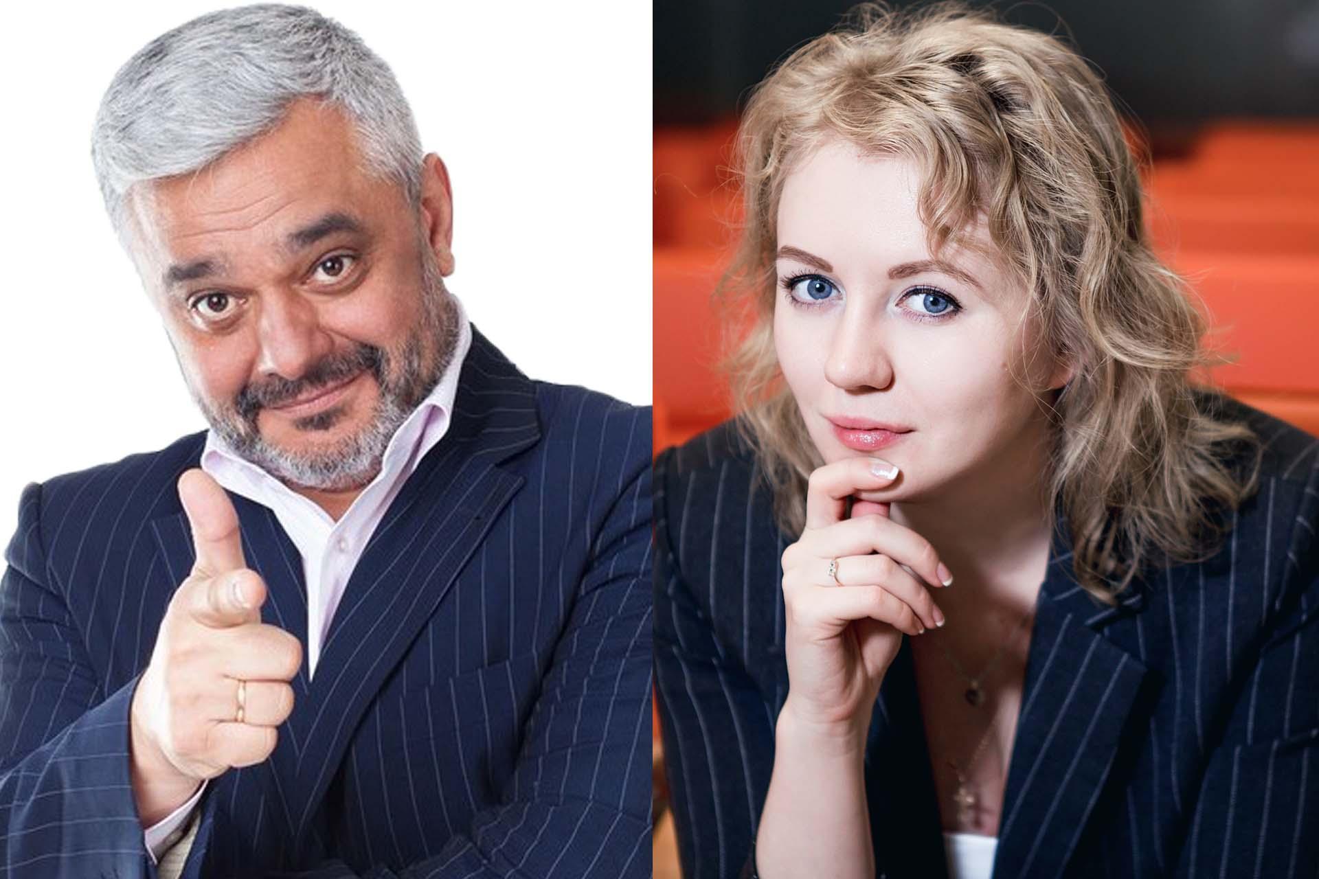 Владимир Маринович и Нинель Морозова