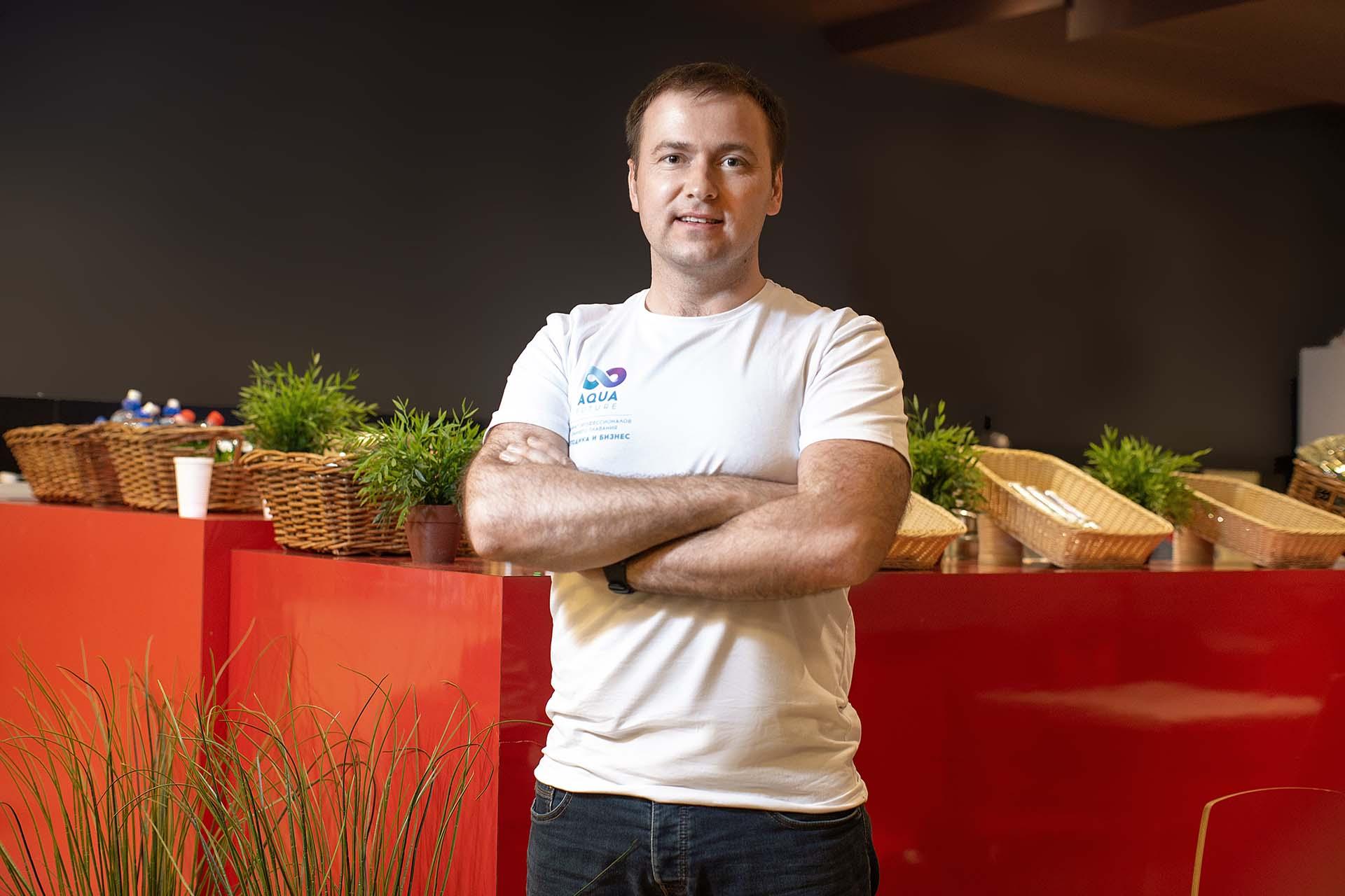 Сергей Логинов, основатель и СЕО федеральной сети студий раннего плавания «Аквакласс»
