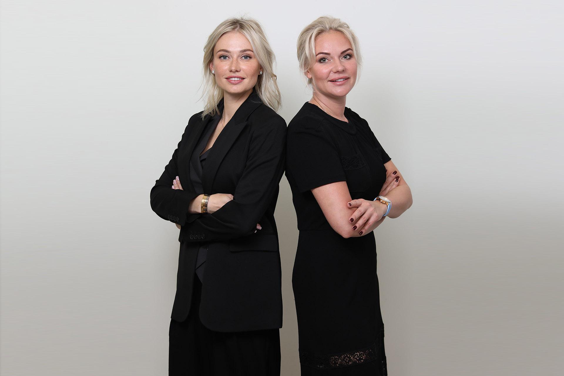Виктория Боева и Татьяна Амарян — основательницы сети частных английских детских садов и клубов Preschool Discovery