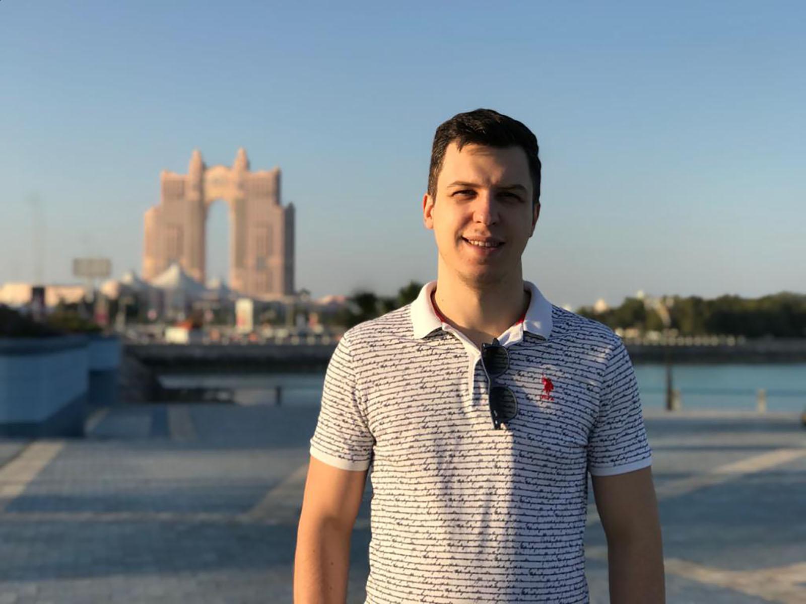 Александр Господинов, основатель платформы поиска добрых дел «Дари время»