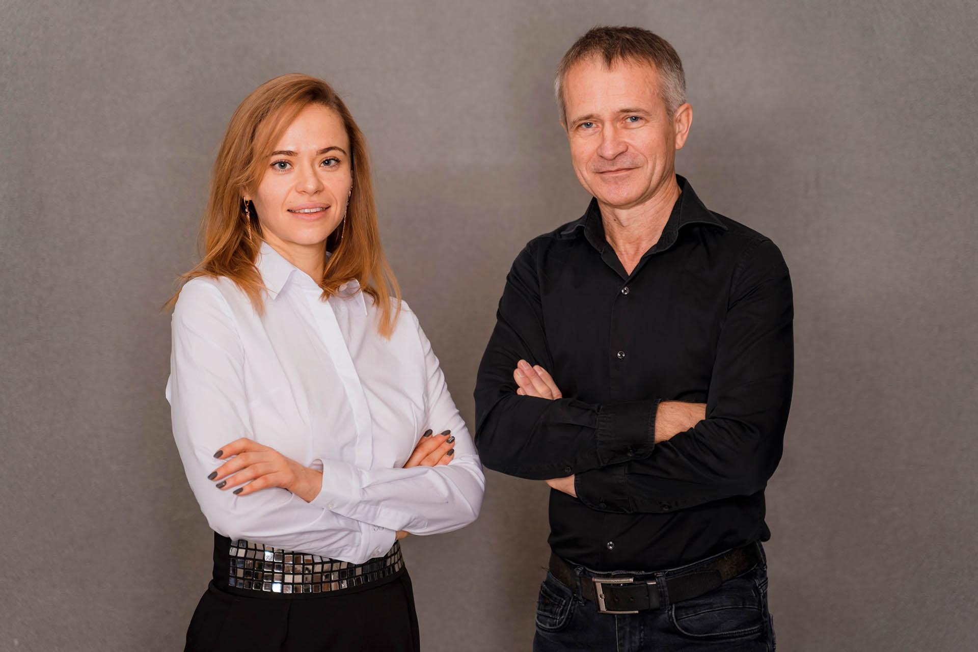 Елена Шацкая и Евгений Андросов