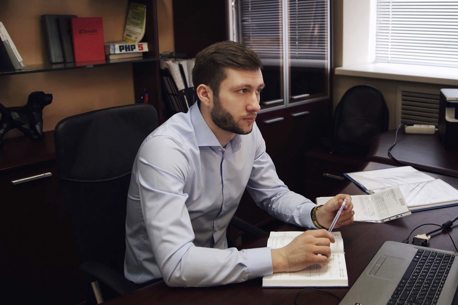 Михаил Головкин, основатель веб-студии WEBSHOP
