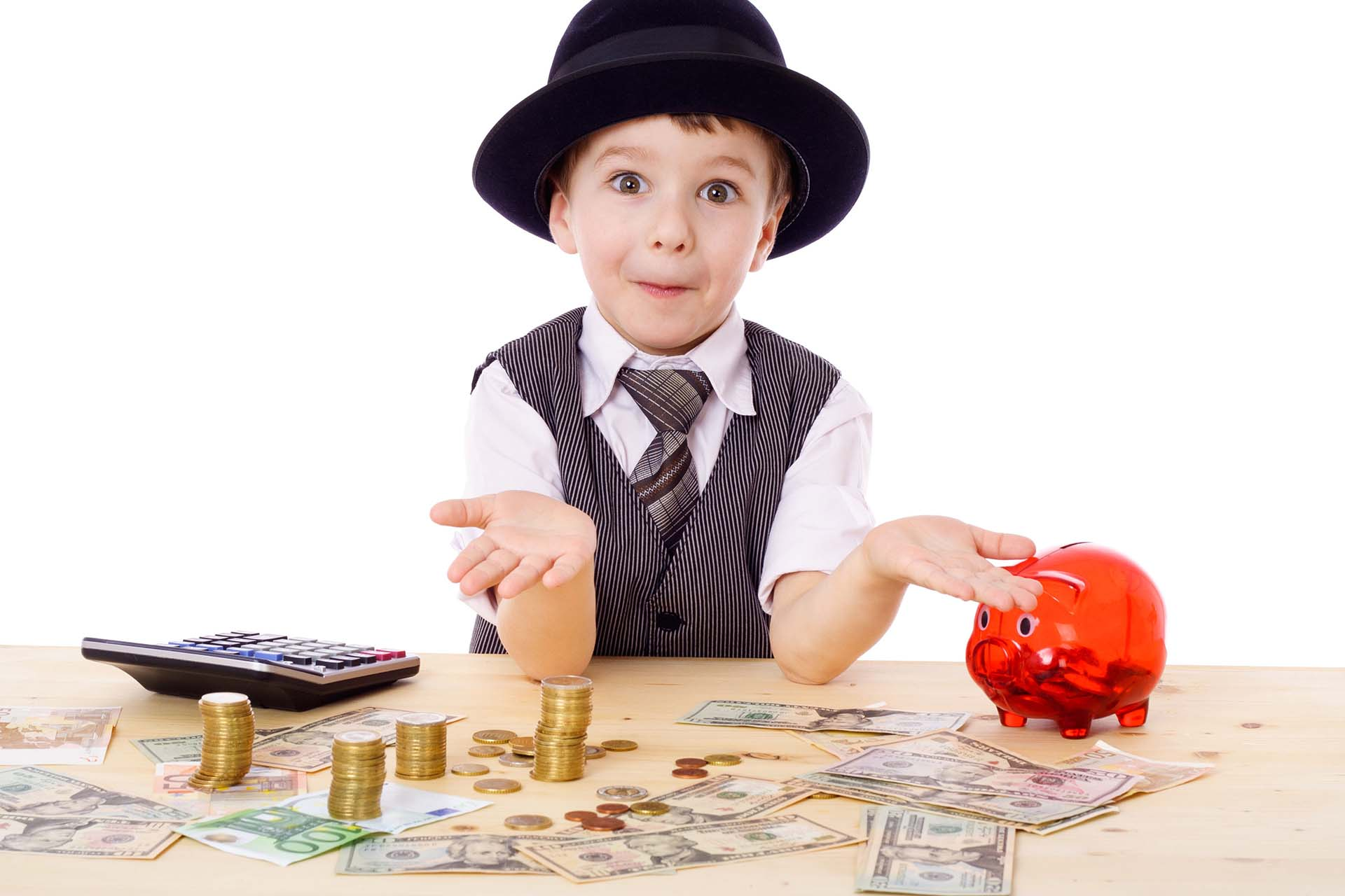 Вебинар: Дети и финансы. Как разговаривать с ребенком о деньгах?