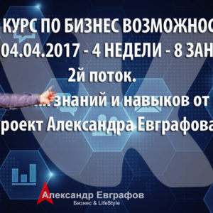 04.03.2017г. — 05.04.2017г. Базовый курс по бизнес возможностям ВКонтакте