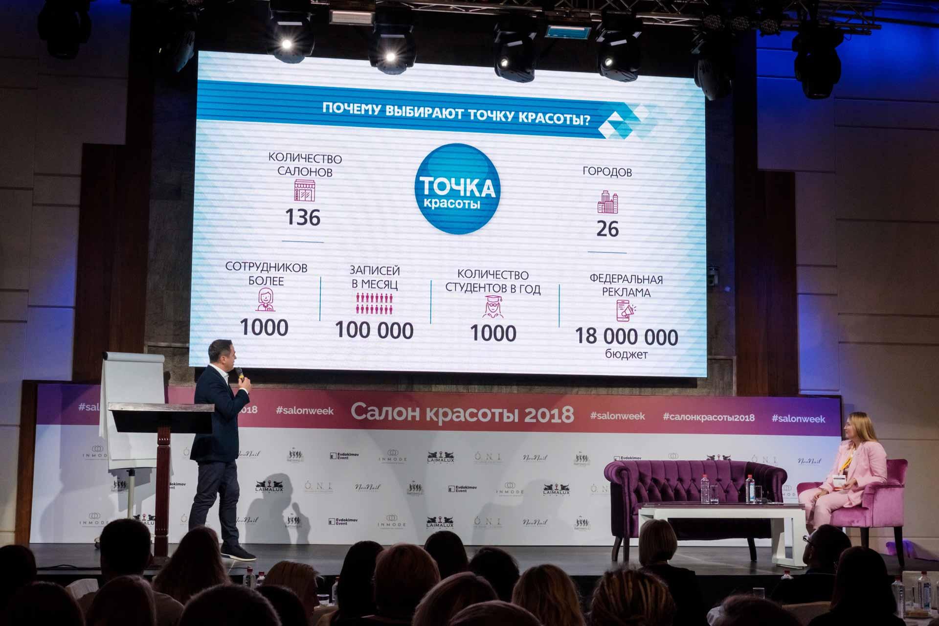 В Москве прошла «Российская неделя салонов красоты - 2018»