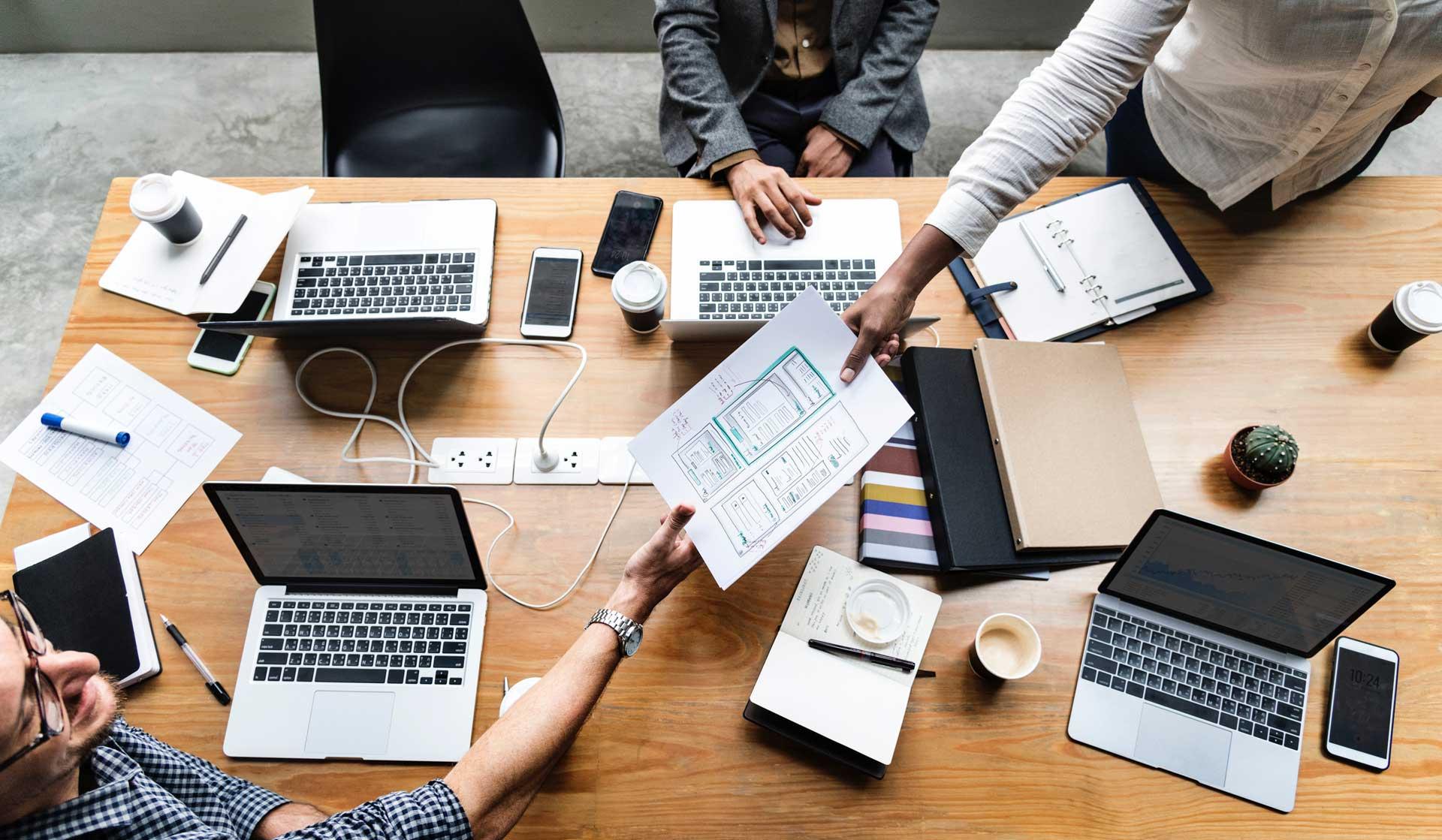 Автоматизация бизнеса и интернет технологии при обработке документов
