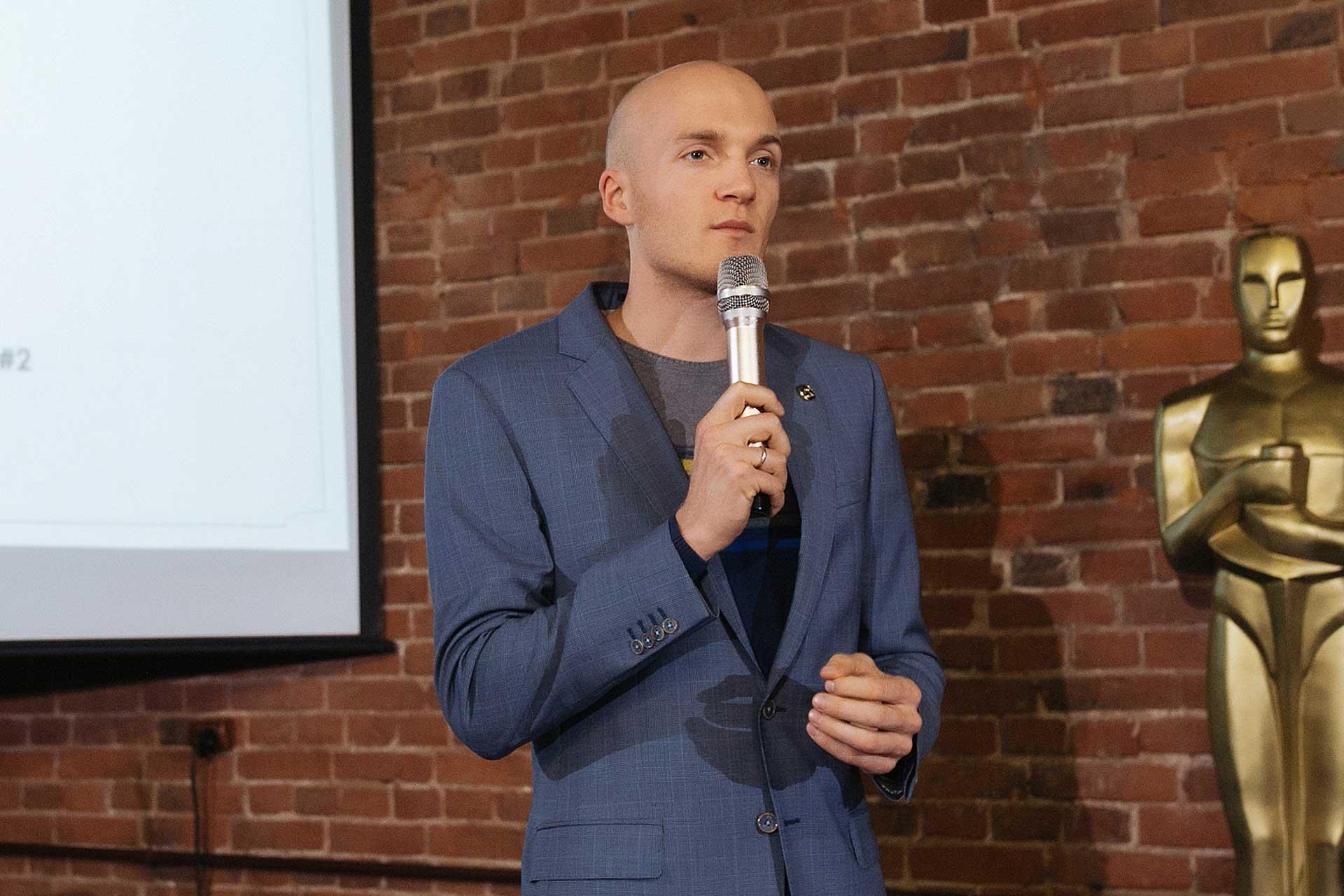 Спикер: Маликов Алексей. Работа с корпорациями, целеполагание, работа над ежедневными задачами