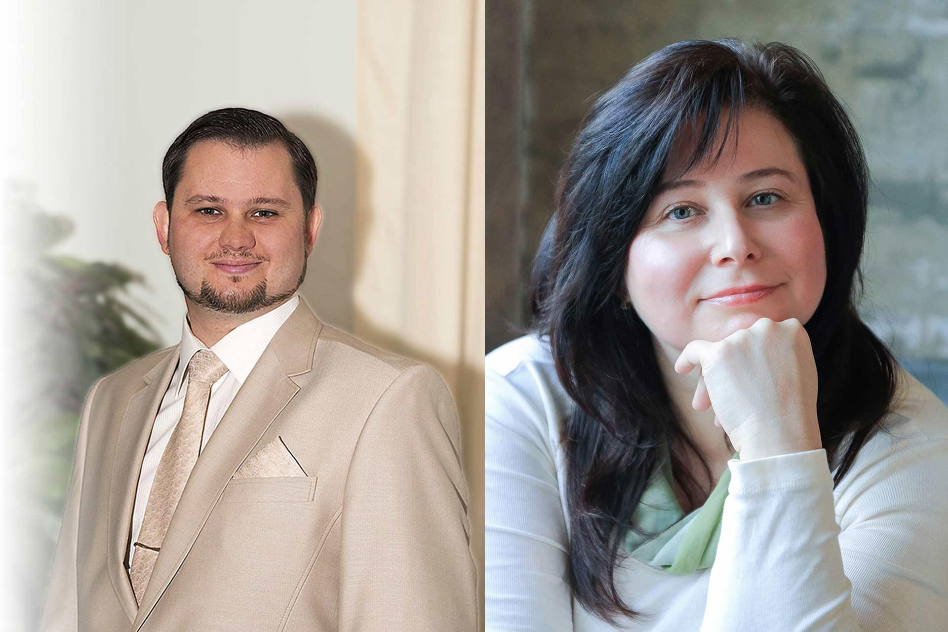 Андрей Кузнецов и Галина Лебедева