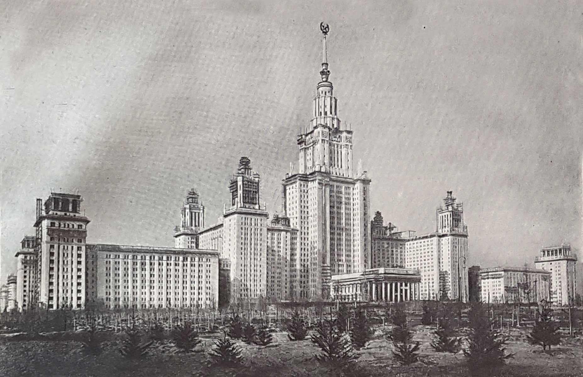 Бесплатный вебинар: Архитектура СССР. Сталинский период